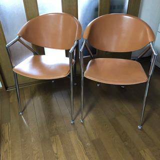イタリア製 カリガリス社 椅子2脚