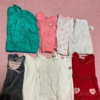 サイズ90 18点セット 上着2着、パジャマ1着、薄手長袖…