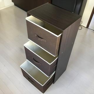 カラーボックスand布製ボックス - 新宿区