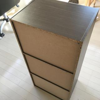 カラーボックスand布製ボックス - 家具