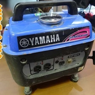 動作OK☆YAMAHA/ヤマハ☆発電機 単相100V 災害時/ア...