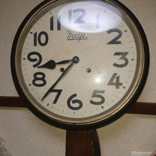 丸い振り子時計