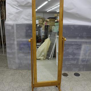 無料です!!木製フレーム 姿見 鏡