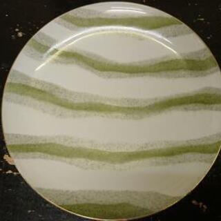 ポップ 大皿 直径25.3cmくらい China アンティーク