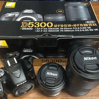 Nikon D5300 ダブルズームキット 【一眼レフ】
