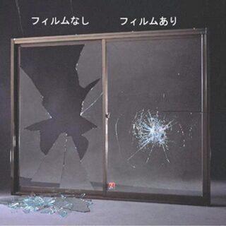 窓ガラスには絶対窓フィルムがおすすめです!