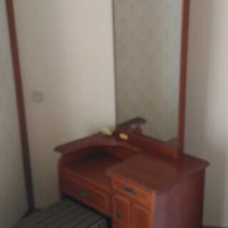 ドレッサー 鏡台 椅子付