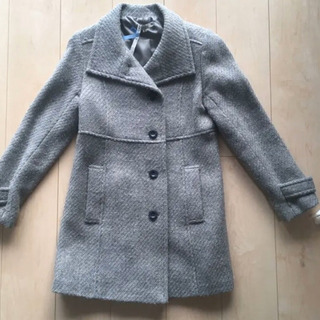 厚手ロングコート