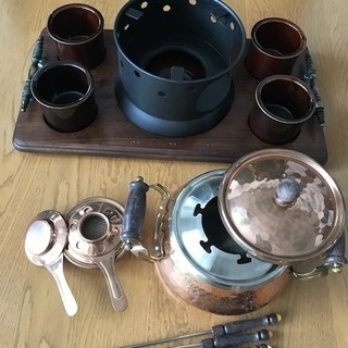 銅鍋フォンデュセット