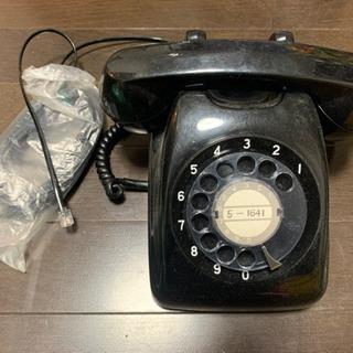 値下げ☆レトロな黒電話
