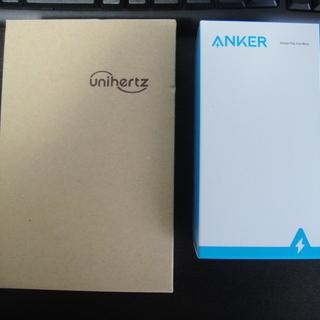 unihertz titan  Anker PowerWave 付き
