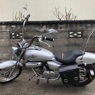お取り引き中【カスタム車】ホンダ マグナ 50cc 自賠責保険付。