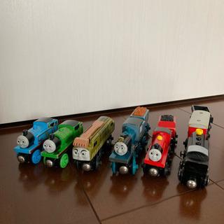 トーマス 木製レールシリーズ 車両セット