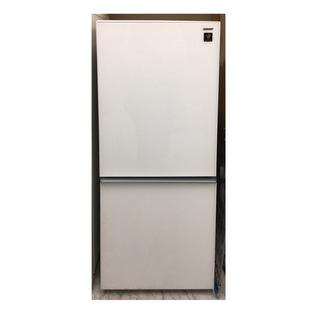 シャープ 137L 冷蔵庫 SJ-GD140-W 2017年製 ...