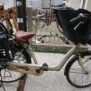 【パンクしてます】子供のせ自転車