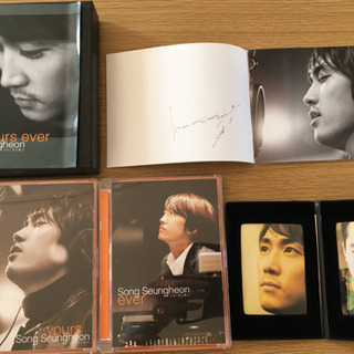 DVDBOX ソン・スンホン/yours ever〈初回生産限定版〉」