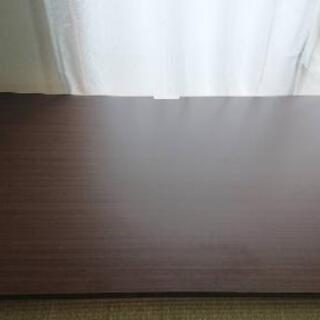 【 ‼️最終値下げ‼️】デスク ロータイプ 木製 本棚付き