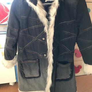 130cm 女の子 コート