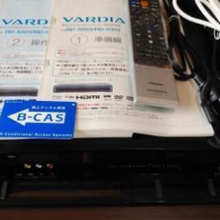東芝 DVDレコーダー HDD320GB内蔵 RD-S30…