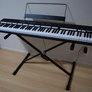 電子ピアノ ~50% 割引! ALESIS Recital 88...
