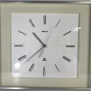 National ナショナル 掛け時計 壁掛け ウォールクロック 中古