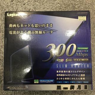 Logitec LAN-W300N/R ※未開封