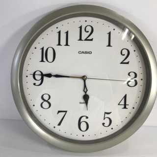 CASIO カシオ 掛け時計 壁掛け時計 ウォールクロック クオ...
