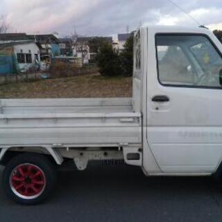 名義変更込み 123000円 オートマ 軽トラ ミニキャブトラック 38000キロ  - 三菱