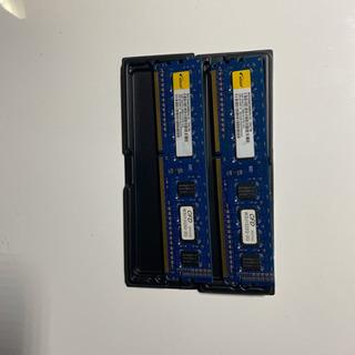 デスクトップ用メモリ 2GBx2枚=4GB