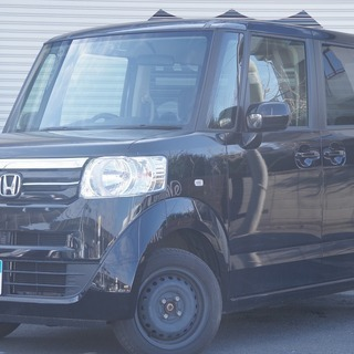 ホンダ N BOX G ブラック 4WDです! ミツクニ自社ローンで♪