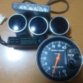 Defi水温、油温、ブースト計 オートメーター回転計 HKSブー...