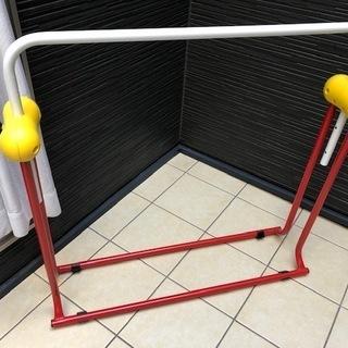鉄棒セット 日本製・SGマーク付折り畳み式鉄棒&逆上がり練習器