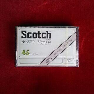 スコッチ・46分カセットテープ新品未開封レア物