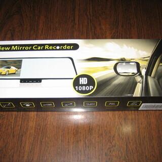 ミラー型ドライブレコーダー 新品