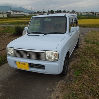 配送登録無料可 4WD マツダ スピアーノ(スズキ ラパン)