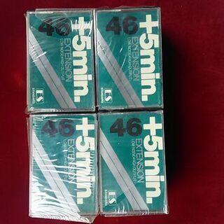 スワイヤ・46分カセットテープ12本セット新品未使用超プレミアムレア物