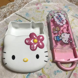 キティ弁当箱とはし箱