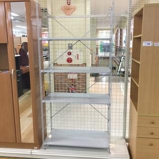 無印良品 ユニットシェルフ 4段 グレー 【トレファク岸和田店】