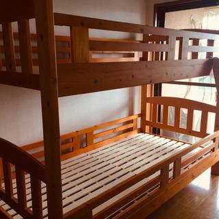 木製スノコ 2段ベッド