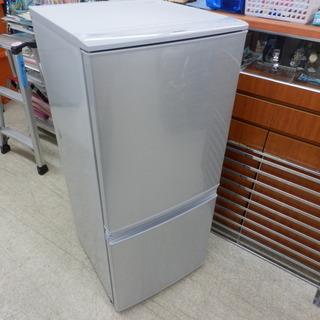 137L冷蔵庫 2017年製 シャープ SJ-D14C-S ペイ...