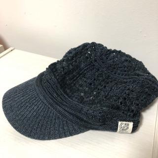 試着のみ❗️綿キャスケット❗️ニット帽子