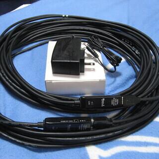 USB 2.0 アクティブ延長ケーブル10m