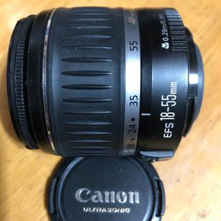Canon キャノン標準レンズ18-55mm