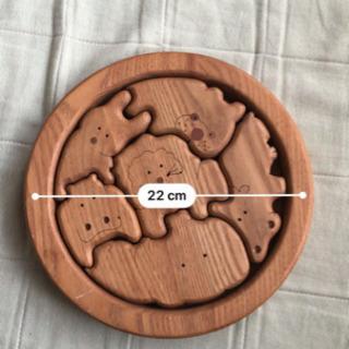 木製 積み木パズル