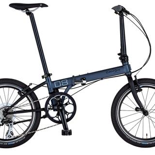 DAHON 折り畳み自転車 SPEED D8 ガンメタル 新品です。