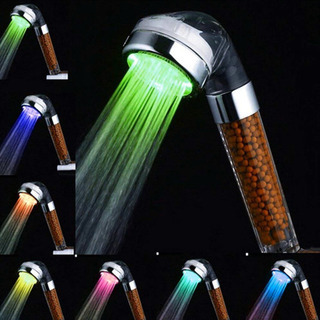 LED 浄水シャワーヘッド