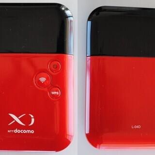 美品■L-04D 超小型Wi-Fiルーター (レッド) doco...