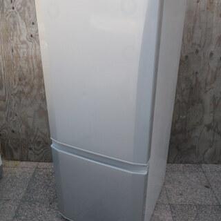 ■配達します。■三菱 146L 2ドア冷凍冷蔵庫 MR-P15Y...