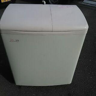 貴重※日立・3.5キロ二槽式電気洗濯機訳有り品