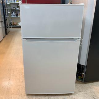 安心の6ヶ月保証付 amadana 2017年製 2ドア冷蔵庫 ...